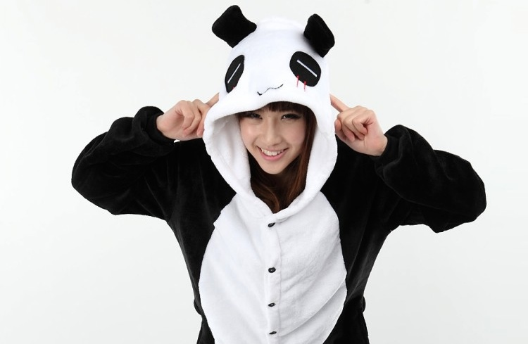 A girl in a panda onesie.  sc 1 st  Thatsmags.com & 6 of the Best Chinese-Themed Halloween Costumes u2013 Thatu0027s Shanghai