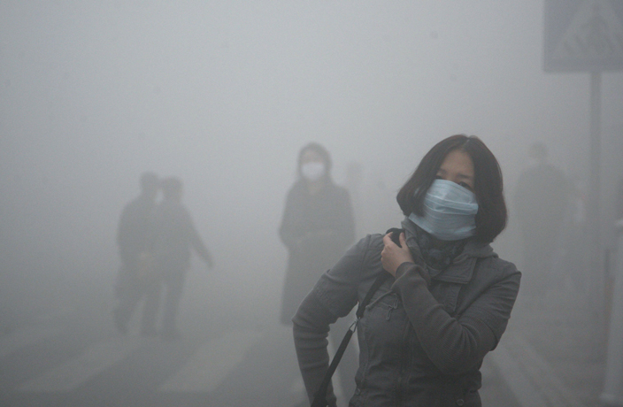 Heavy Pollution Hitting China This Winter