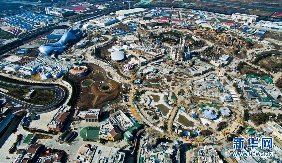 PHOTOS: Shanghai Disney Resort from Above