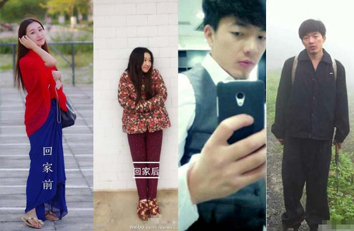 PHOTOS: Chic Chinese Urbanites Before and After CNY