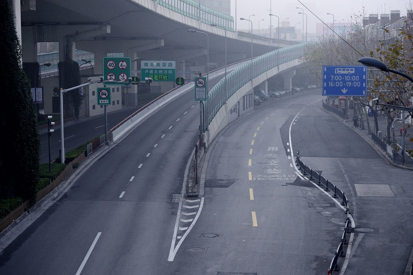 Shanghai Becomes Virtual Ghost Town During Chinese New Year