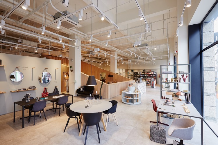 Superieur The Second Shanghai Branch Of The Uber Cool Danish Furniture Company, This  Outlet Features All The Classic Elements Of A HAY Shop, As Well As A  Permanent ...