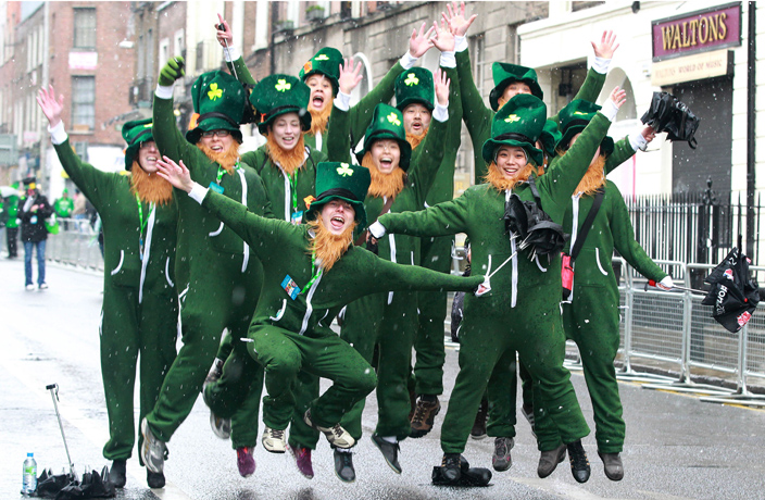 Paint the Town Green at Our St. Patrick's Day Pub Crawl