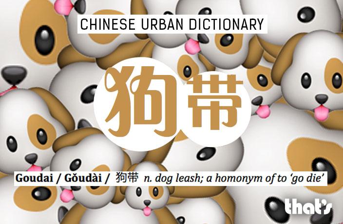 Chinese Urban Dictionary: Goudai