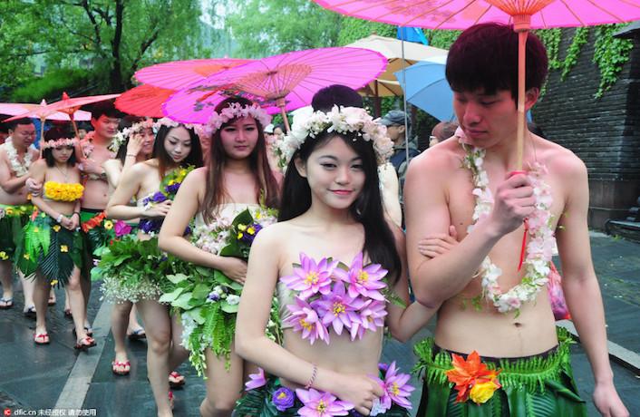 Nude wedding ceremony Nude Photos 94