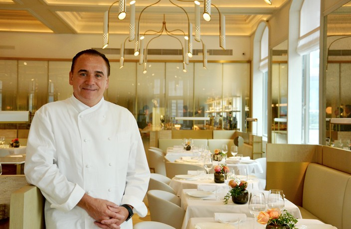 Interview: Jean Georges on His Brand New Shanghai Look