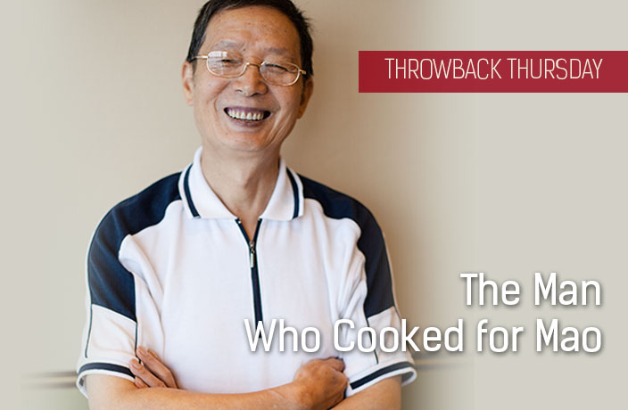 Throwback Thursday: The Man Who Cooked for Mao