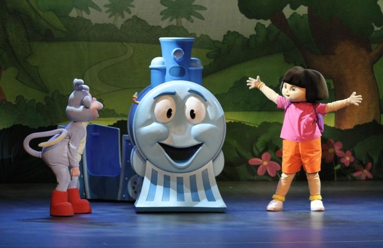 July 1–3: Dora the Explorer Live!
