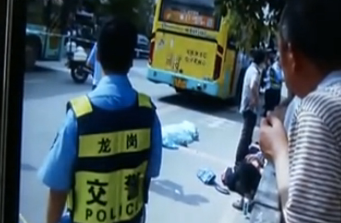 Middle School Student Crushed by Shenzhen Bus