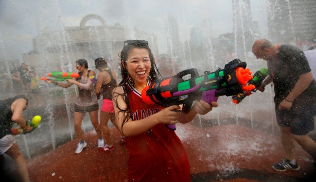 Until July 10: Water Fight Season 2