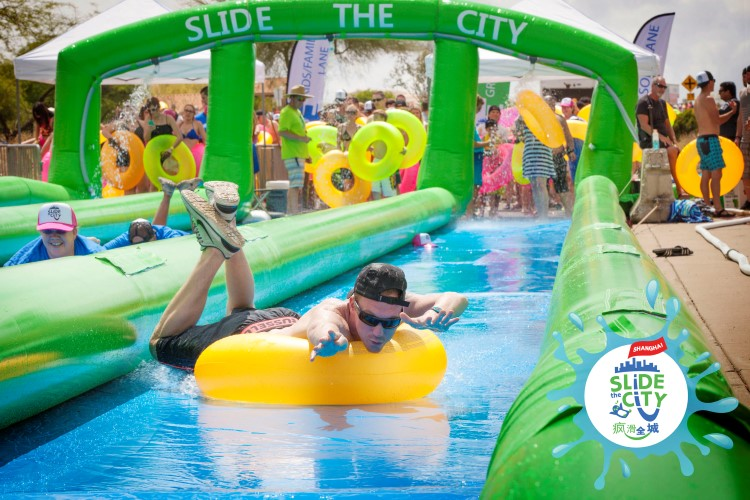 July 13-August 7: Slide the City