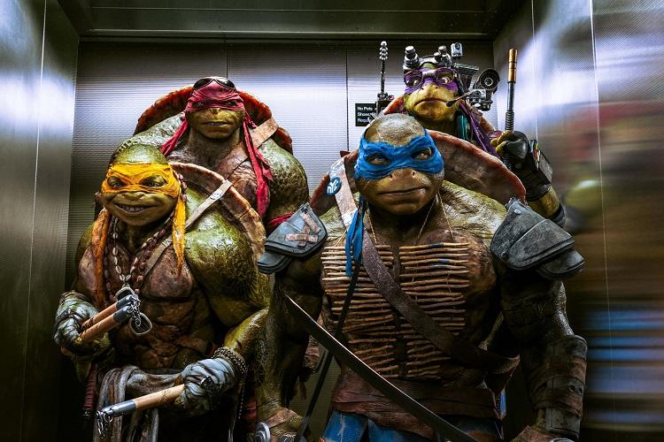 July 2: Teenage Mutant Ninja Turtles – Out of the Shadows