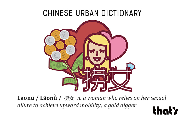 Chinese Urban Dictionary: Laonü