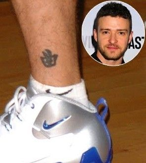 26 famous celebs with chinese tattoos for Justin timberlake tattoos removed