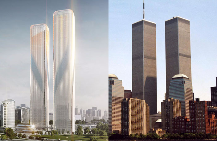 World Trade Center Ripoff In Hangzhou Designers Say No Thatsmags