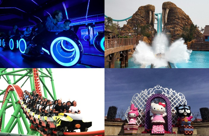 12 of the Biggest Amusement Parks in China
