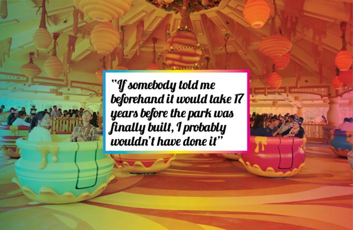 Shanghai Disneyland quote