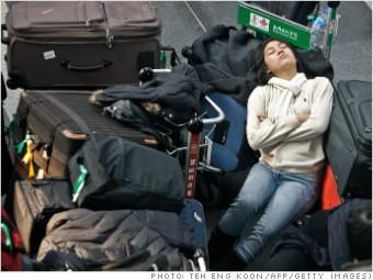 Flight delays China