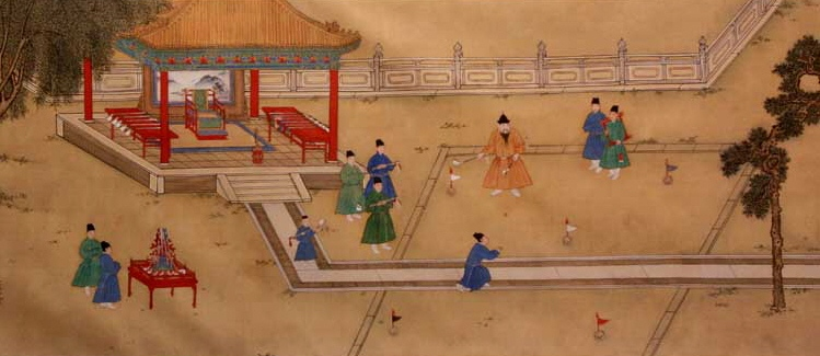 Ming_Emperor_Xuande_playing_Golf.jpg