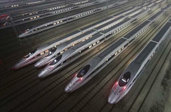 China's Lightning Fast High-Speed Train Network Revolution