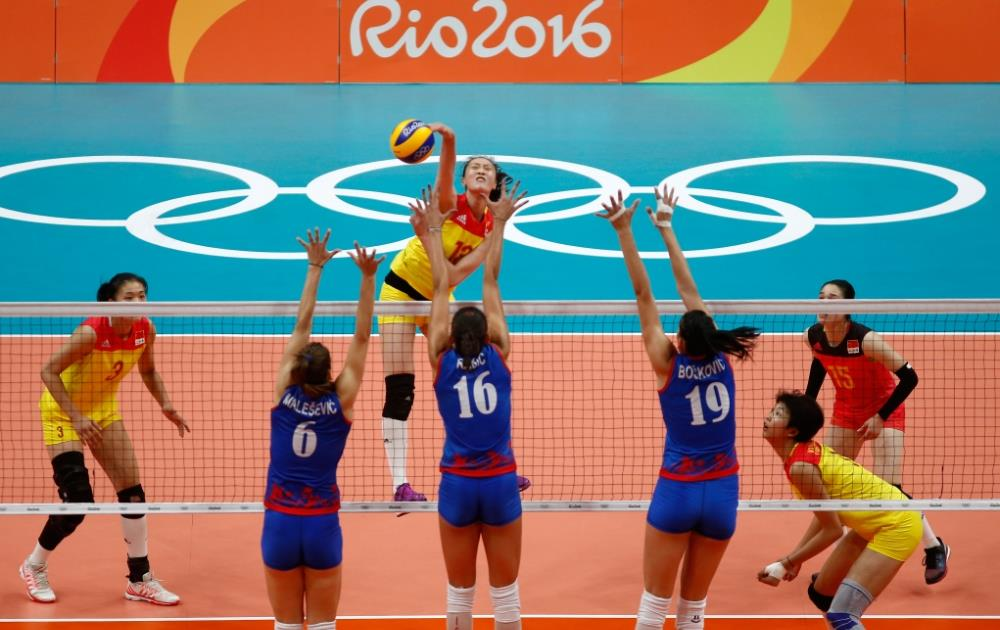Chinese Women S Volleyball Team Captures Gold In Surprise