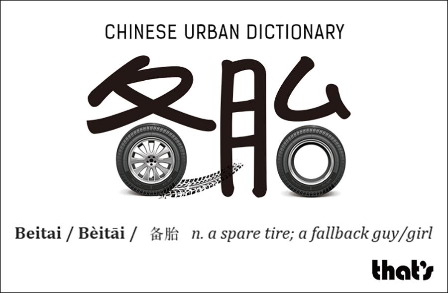 Chinese Urban Dictionary: Beitai