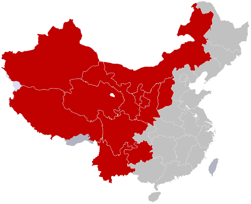 This Map Shows How The US Population Fits Into China Thatsmagscom - Us map with population density