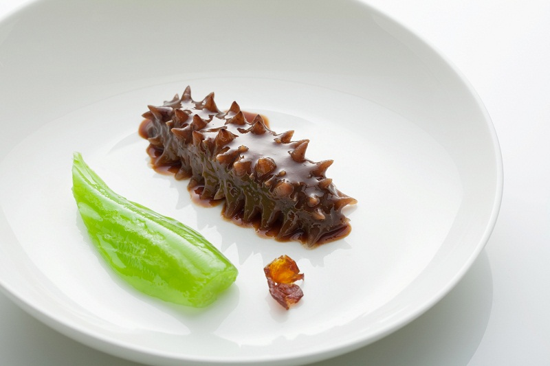 Sea cucumber chinese food