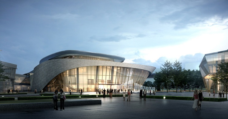Oct 1-2: Shanghai International Dance Center Opening
