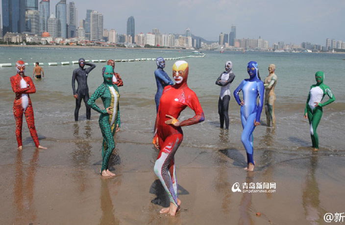 These New Chinese 'Burkinis' Are Terrifying