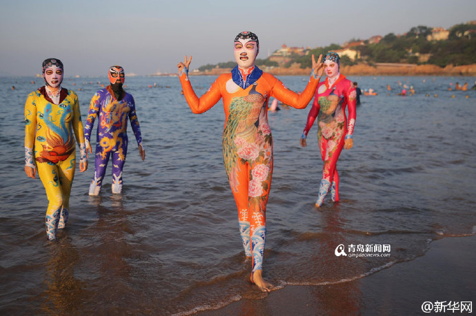 These 'Chinese Burkinis' Are Terrifying