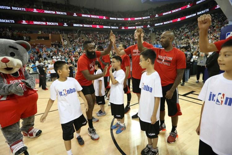 86770ae50de PHOTOS  NBA Fan Appreciation Day at Shanghai Oriental Sports Center ...