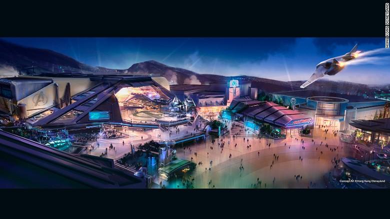 Hong Kong Disneyland upgrade