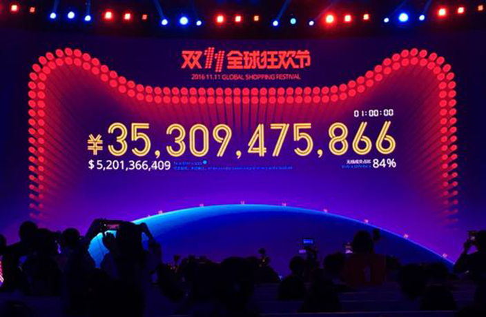 Alibaba Smashes Singles Day Record, Earns 35 Billion RMB in 1 Hour