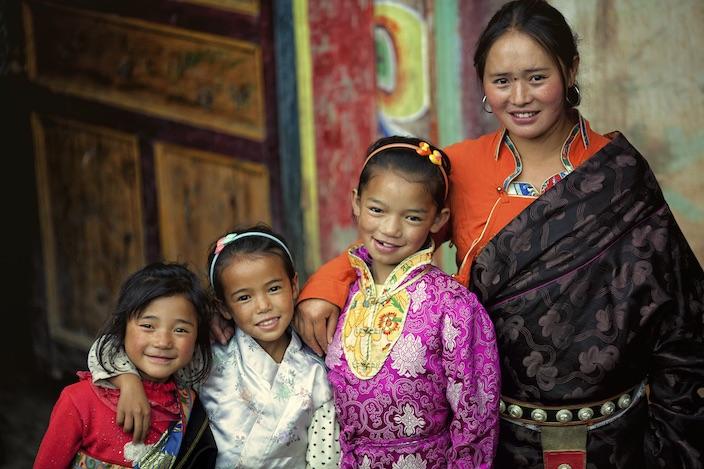 the tibetan family essay