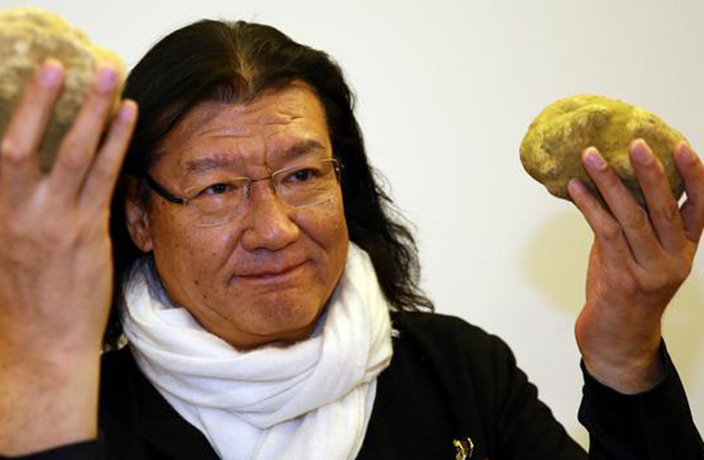 Da Dong Owner Shells Out $112,000 For Giant White Truffle