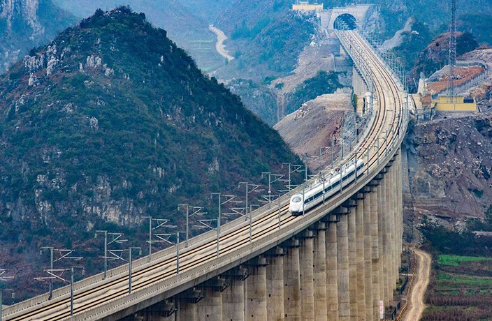 High Speed Rail Linking Shanghai and Kunming Now Open