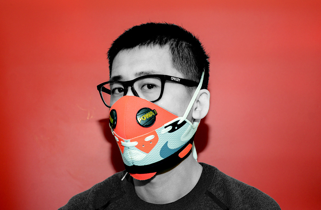 The Beijing Designer Making Air Masks From Air Jordans That S Beijing