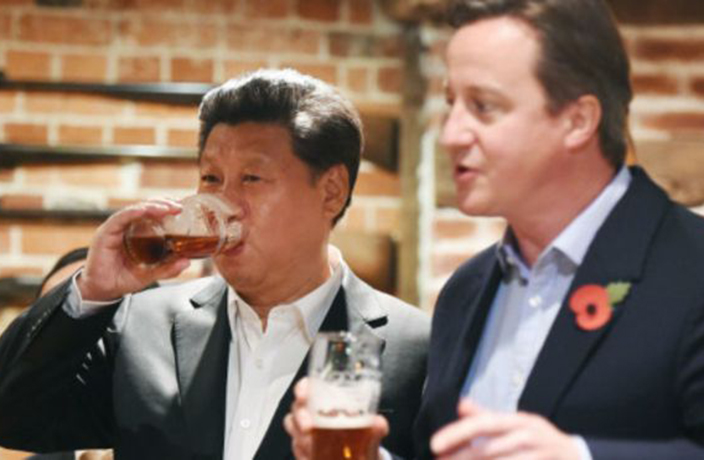 Chinese Firm Buys UK Pub Where Xi, Cameron Shared a Pint
