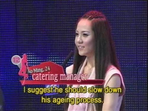"chinese dating shows Cao kefan (曹可凡), presenter of shanghai's dragon tv claims a large part of these dating shows is just staged acts ""all the contestants are actors or models, they were carefully selected to attend the show, and they have scripts,"" says cao in a chinese tv conference."