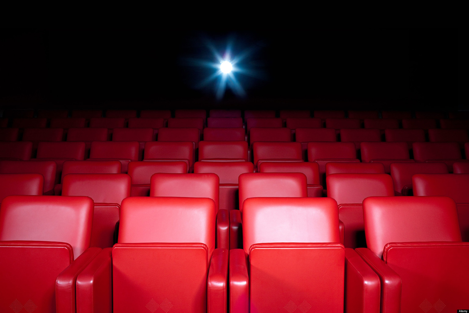 Slumping Movie theater ticket sales empty theater