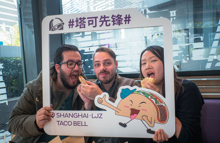 WATCH: The Shanghai Show Visits Taco Bell