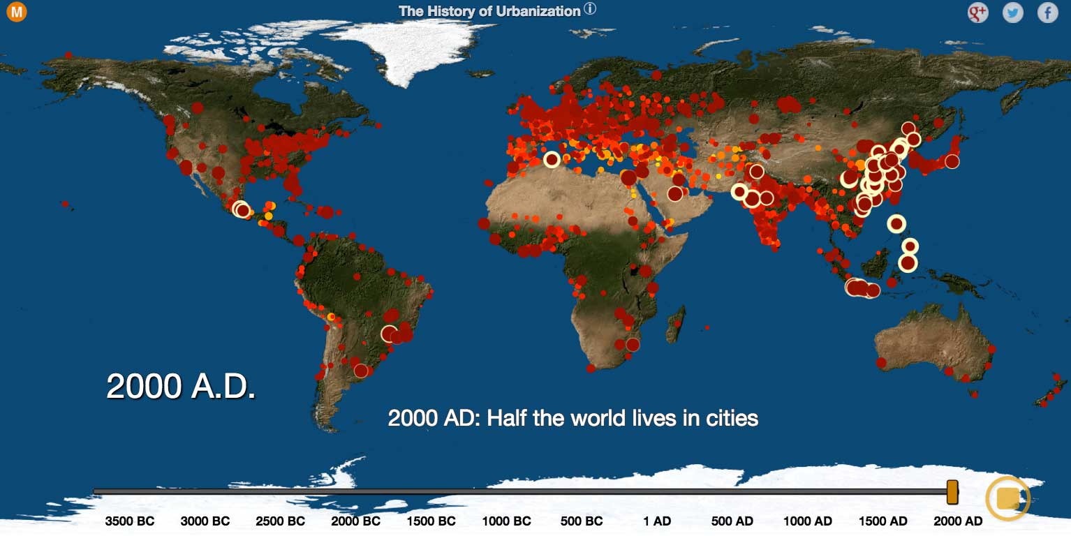 Watch 5700 Years of World History With This Cool Map Thatsmagscom