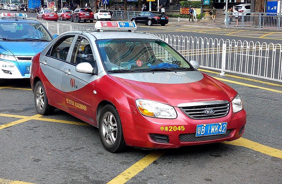 Shenzhen's Red Taxi Prices Went Up 1 RMB
