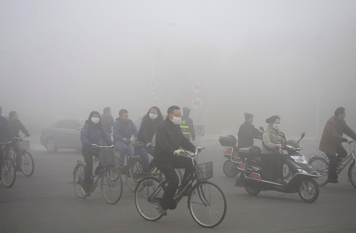 Smog Makes People Unhappy, Survey Declares