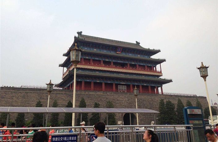 AR Technology Used to 'Rebuild' Beijing's Historic City Gates