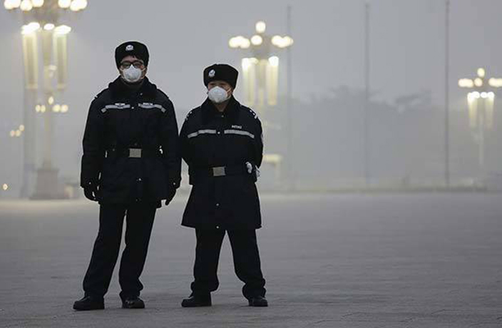 Beijing's 'Smog Police' Detain First Pollution-Causing Offender