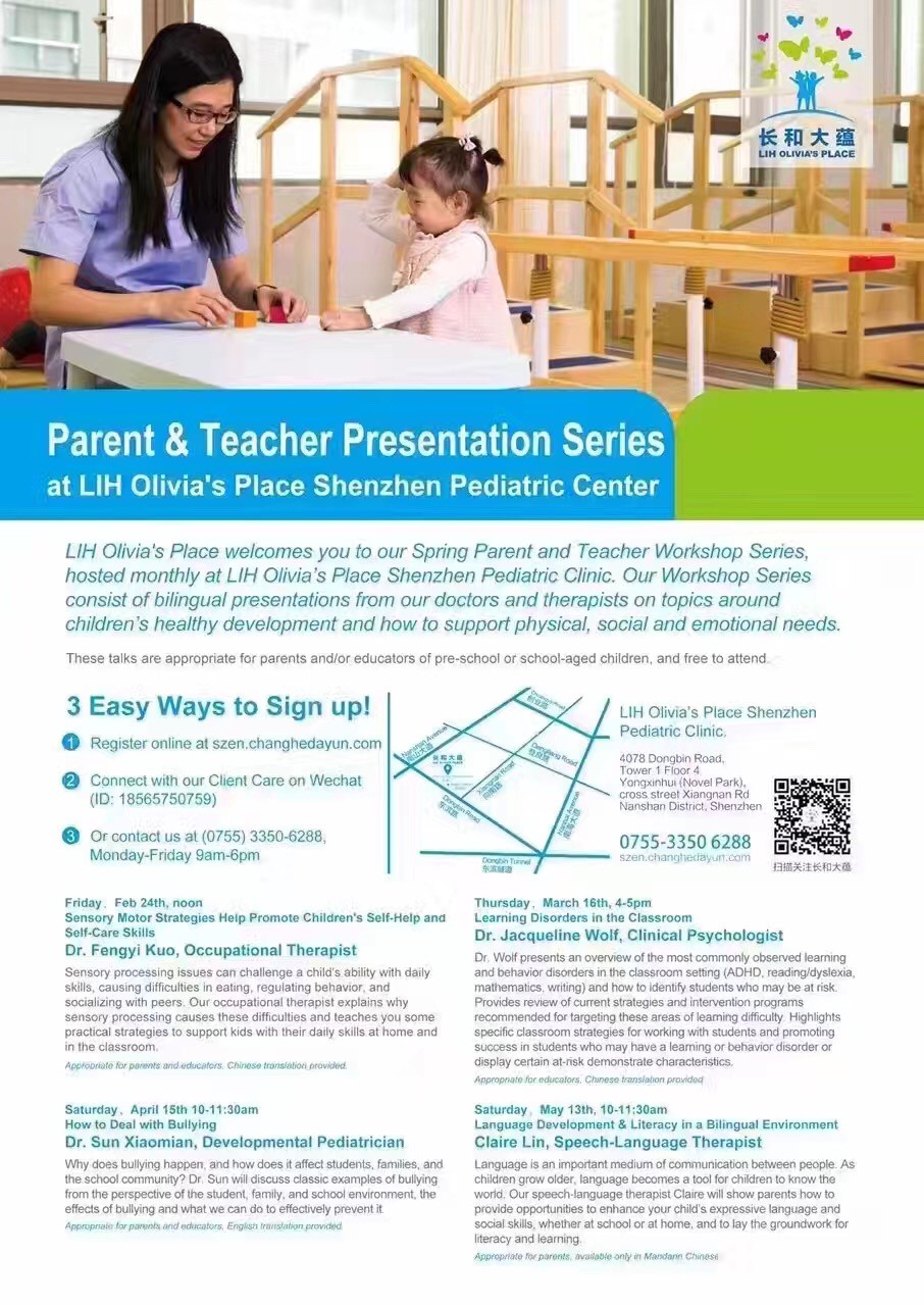 Parent workshop on learning disorders