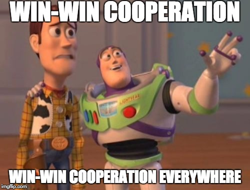 Win win cooperation
