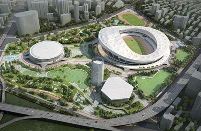 Shanghai's Largest Sports Venue to be Built in Xujiahui